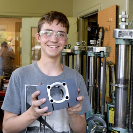 Students earn mentors, money through youth apprenticeships