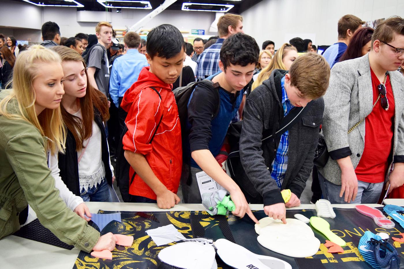 NW Youth Careers Expo 2016: Nike exhibit