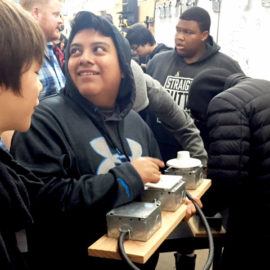 PPS high school students explore careers on Oct. 11, on campus and off