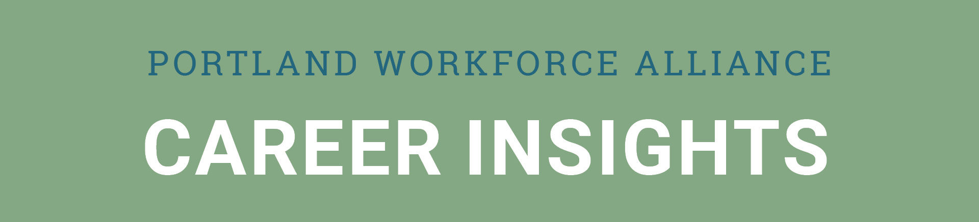 Portland Workforce Alliance