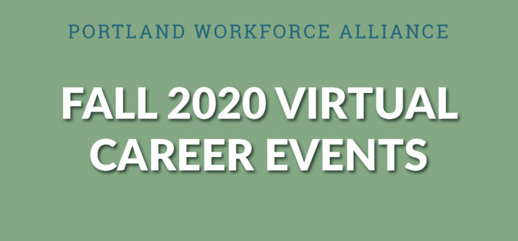 PWA Virtual Career Talks: Fall Programming for Students
